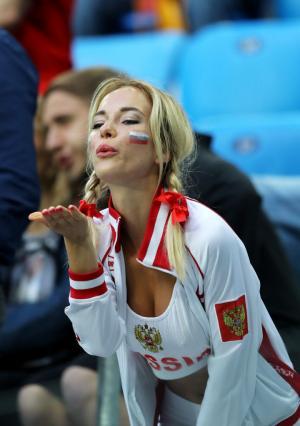 월드컵, 미녀들의 응원 모습 (1)
