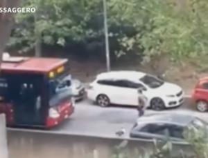 [영상] 말다툼 끝에 승객 치여 죽인 막장 버스기사