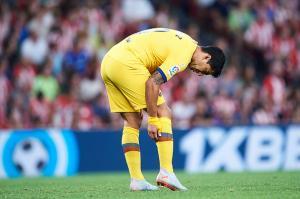 [라리가 리뷰] '수아레스 부상-메시 제외' 바르사, 빌바오에 0-1 패...불안한 스타트